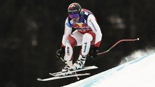 Ski alpin: maudit, Beat Feuz termine encore au 2e rang  de la descente de Kitzbühel
