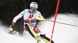 Ski alpin: Daniel Yule remporte le slalom de Kitzbühel