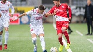 Super League: le FC Sion manque son début de match et concède sa première défaite en 2020