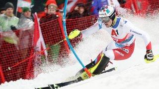 Ski alpin: Daniel Yule termine un mois de folie sur le podium