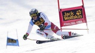 Ski alpin: Holdener finit 3e du géant de Kranjska Gora, la Néo-Zélandaise Robinson l'emporte