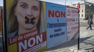 Le Haut-Valais dit non à la Lex Reynard contre l'homophobie