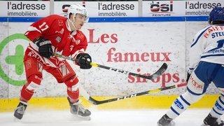 Hockey: Un HCV Martigny appliqué file en demi