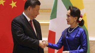 Pékin trace sa «route de la soie» en Birmanie