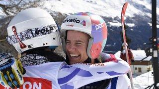 Télémark: première course et première victoire pour Amélie Wenger-Reymond et Bastien Dayer