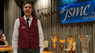 Florian Darbellay est sacré roi du Junior Slow Melody Contest