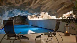 La grotte thermale de Brigerbad rouverte