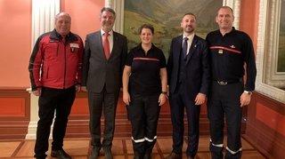 Le Haut-Valais a sa première instructrice pompier