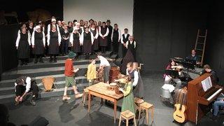 Chalais: un spectacle musical raconte le Valais sous l'occupation française