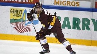 Hockey: GE Servette prête Guillaume Maillard au HC Sierre pour un match
