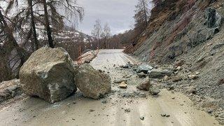 Intempéries: le Valais des routes vigilant, mais pas alarmé