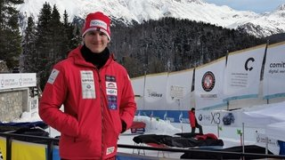 Bobsleigh: Michael Kuonen fonce vers les Jeux de Pékin