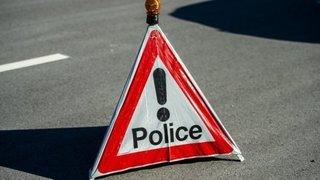 Accident à Staldenried: une personne grièvement blessée