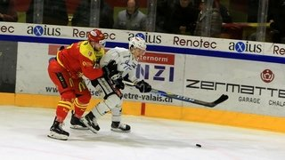 Hockey: mathématiquement, ce n'est pas encore fait pour le HC Sierre