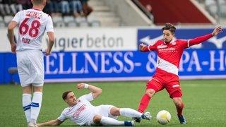 Football: Sion n'était pas à l'heure, à Thoune, pour la rentrée