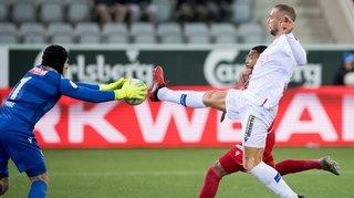 Football: découvrez les notes des joueurs du FC Sion après le match à Thoune!