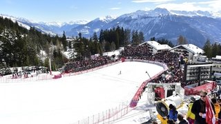 Ski alpin: la première descente de Coupe d'Europe se courra jeudi à Crans-Montana