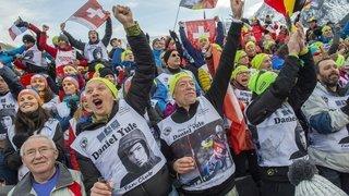 Ski: suivez-nous sur les traces des supporters de Daniel Yule à Chamonix!