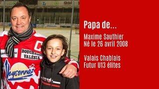 Martigny: le hockey se transmet de père en fils