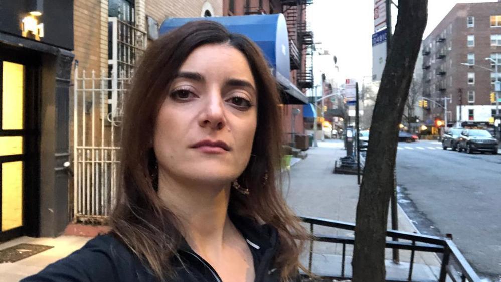 Nadia Battaglia vit à New York depuis fin 2018.