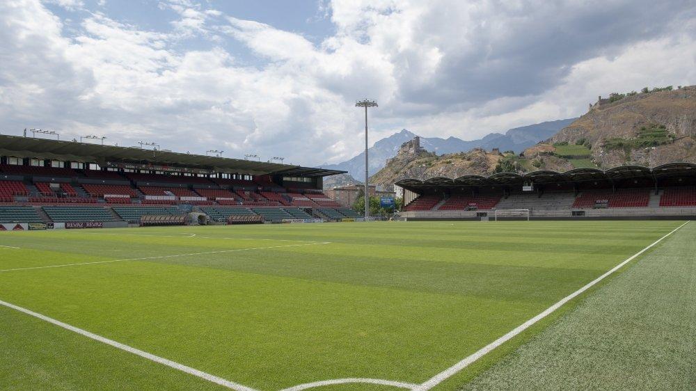 Le stade de Tourbillon va rester vide ces prochaines semaines.