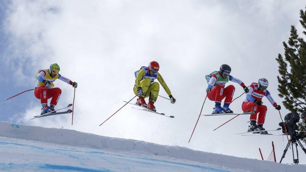 Les meilleurs spécialistes de la planète de ski-cross sont attendus à Veysonnaz dans deux semaines.