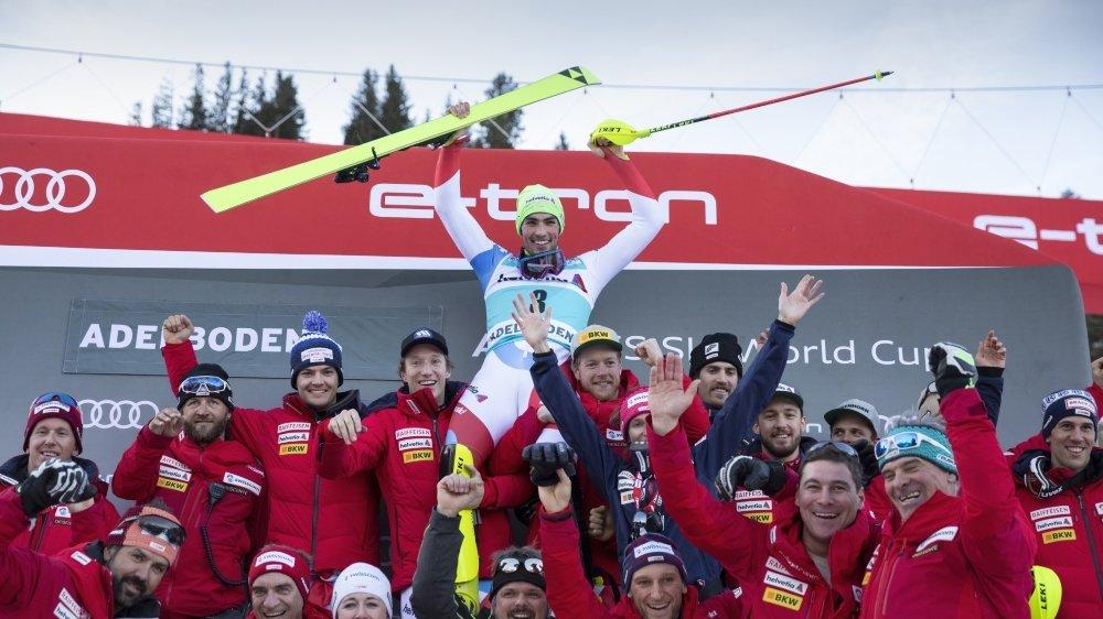Avec ses trois succès, Daniel Yule est l'athlète qui a offert le plus de victoires pour l'instant à l'équipe de Suisse cette saison.