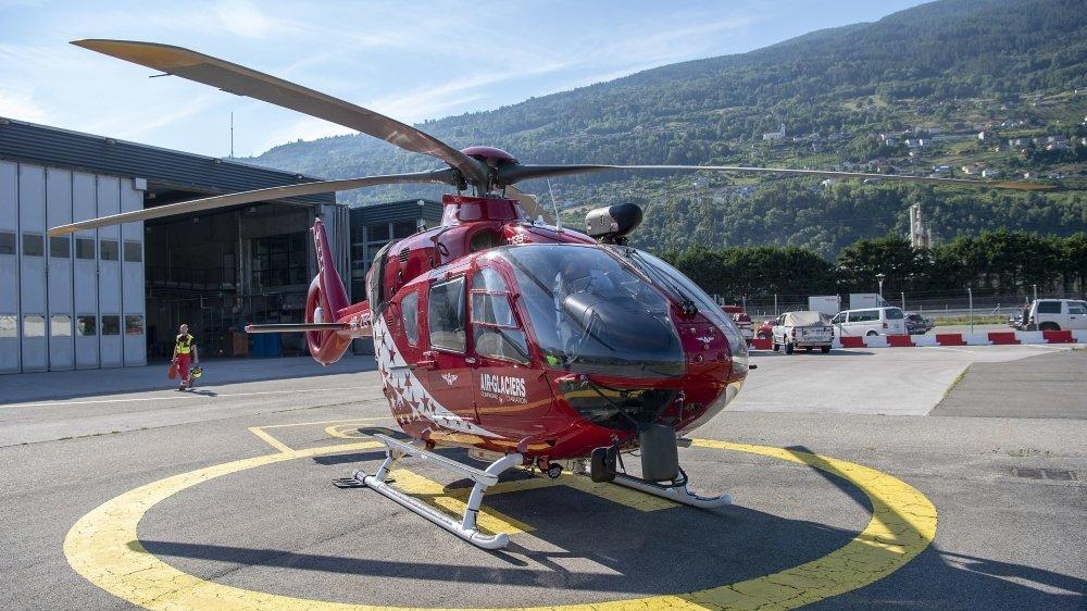 Les hélicoptères d'Air-Glaciers garderont leur identité visuelle.