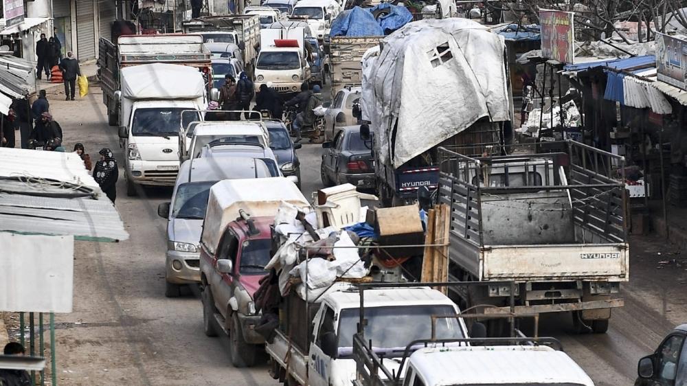Près de 900000 civils ont fui Idlib, en trois mois.