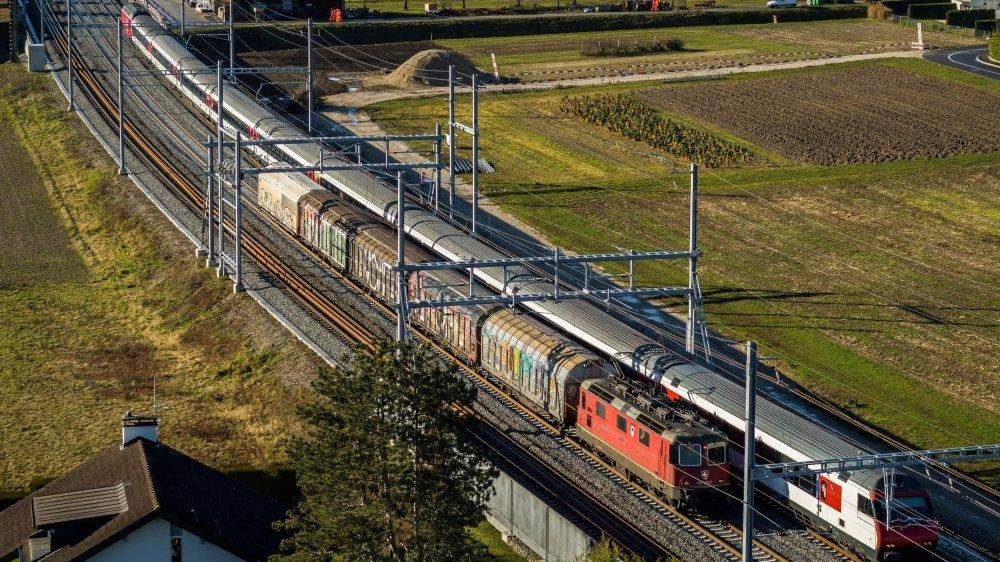 Nouveau maillon entre Genève et Lausanne