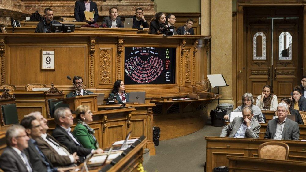 Le virus ne refroidit pas le Parlement