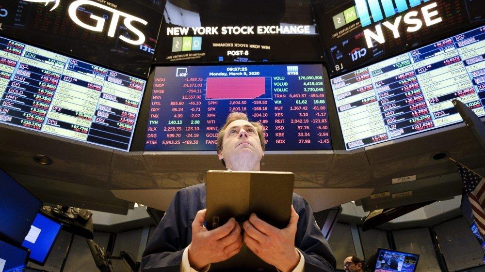 Les Bourses en panique