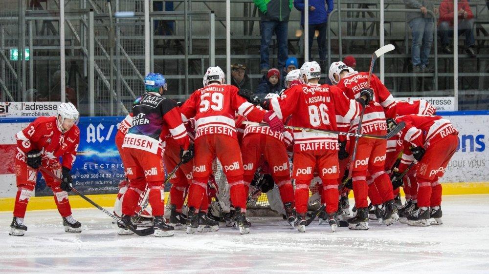 Le HCV Martigny reste en MS League. A moins que les Ticino Rockets...