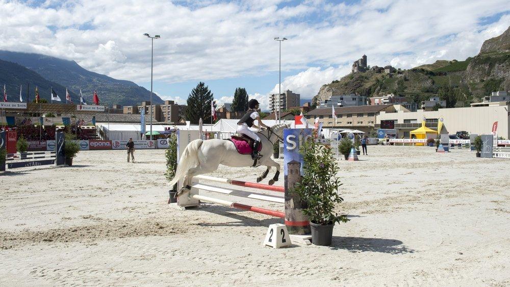 La place de Tourbillon, à Sion, pourrait retrouver les meilleurs cavaliers suisses.
