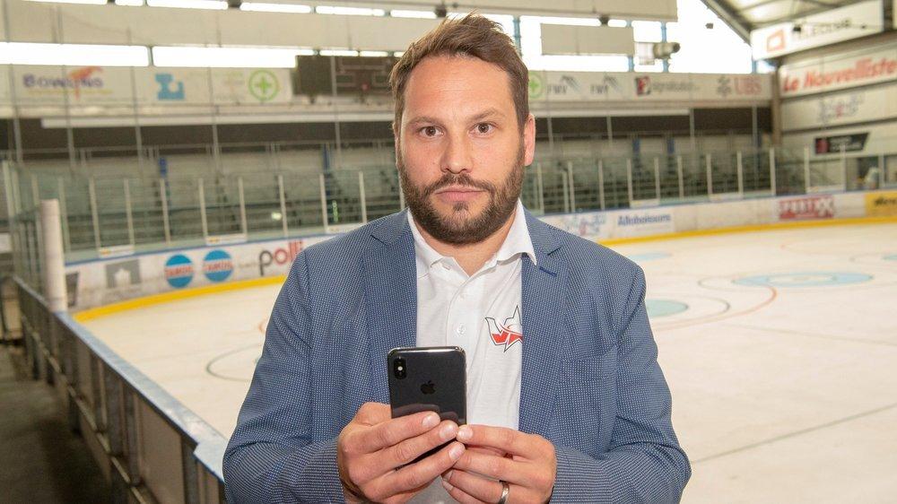 Nicolas Burdet ne quittera pas son téléphone, ces prochains jours, afin de se tenir au courant des décisions prises par la ligue nationale.
