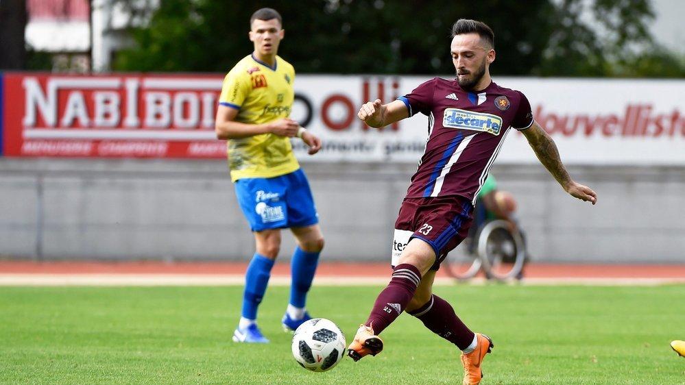 Florian Berisha sera l'un des atouts offensifs du Martigny-Sports dans sa quête de progression.