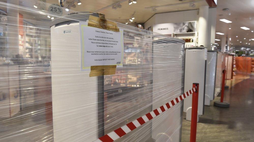 La fermeture provoquée par le coronavirus à la mi-mars met en difficulté financière de nombreux commerces.