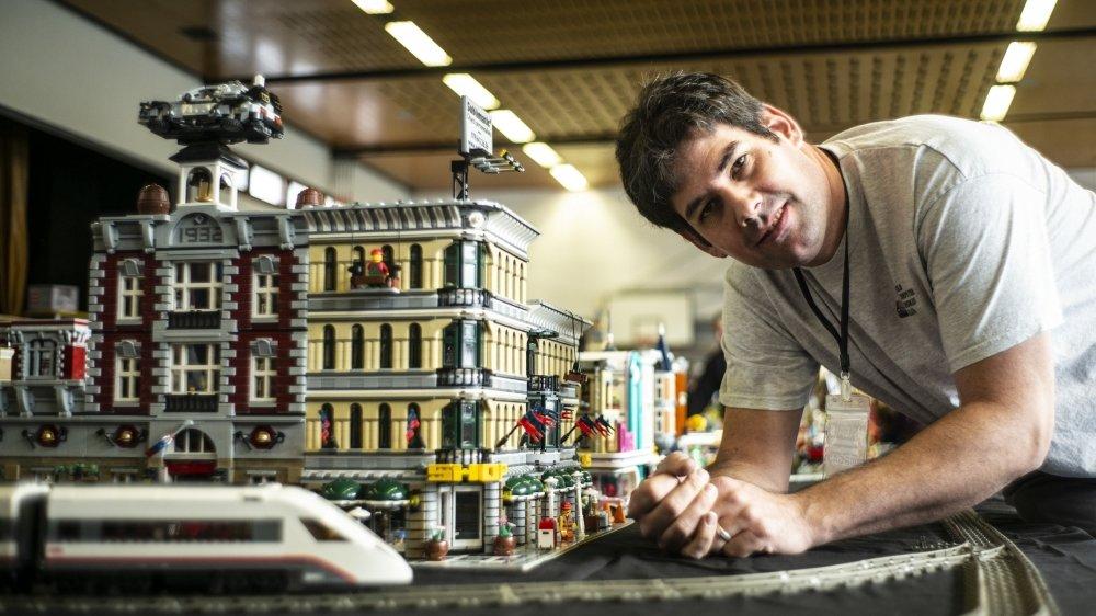 Laurent Bernard est un fan inconditionnel de lego depuis plus de trente ans.