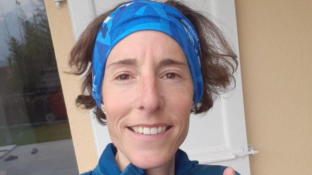 Maude Mathys garde le sourire malgré le report des JO de Tokyo et l'incertitude qui règne sur l'organisation des courses à pied estivales.