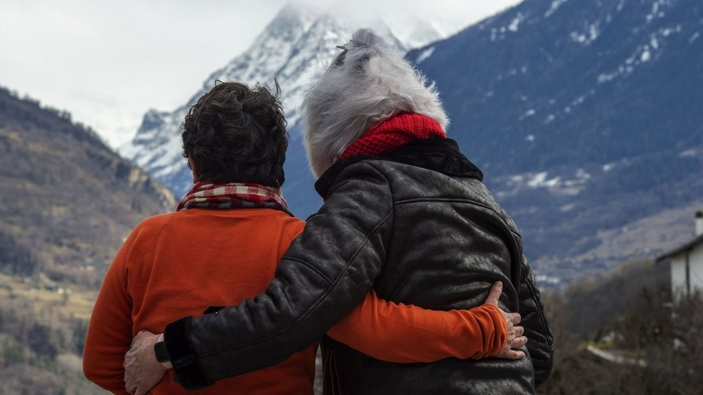 Patricia et Nelly sont infiniment touchées par la solidarité et l'esprit de communauté qui animent le val d'Hérens.