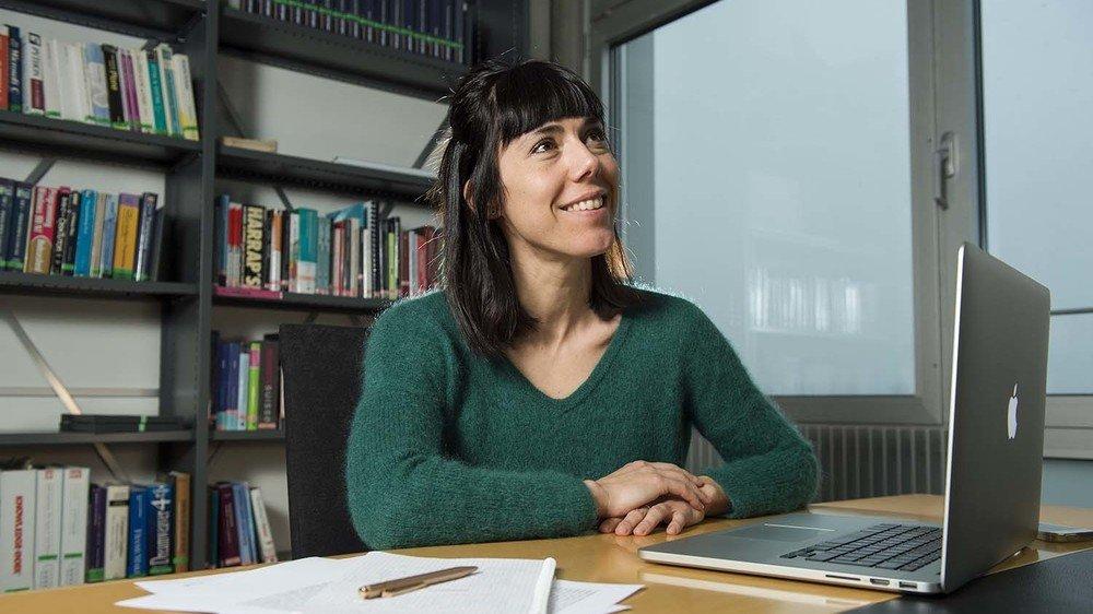 Formation, promotion des femmes dans la recherche, etc., Raphaëlle Luisier a des projets plein la tête.
