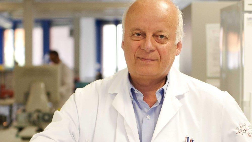 Le Docteur Nicolas Troillet, directeur de l'Institut central des hôpitaux valaisans.
