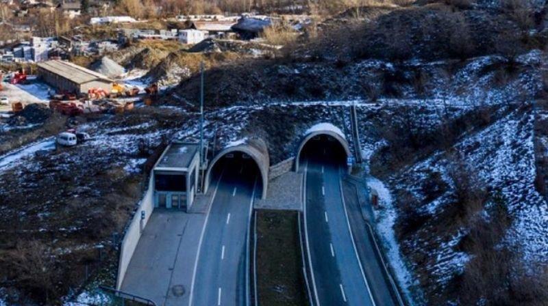 Autoroute A9: le tunnel de Gamsen fermé pour une nuit