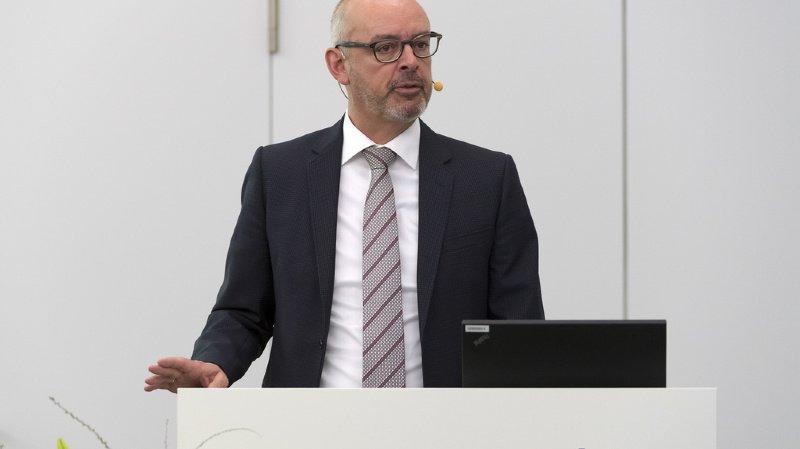 Gert De Winter, CEO de Bâloise, a vu son revenu augmenter de 5,5% pour s'établir à 2,21 millions de francs sur l'année 2019.