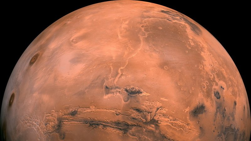 Reconstruire l'histoire climatique de Mars pourrait aider à mieux comprendre celle de notre planète. (Illustration)