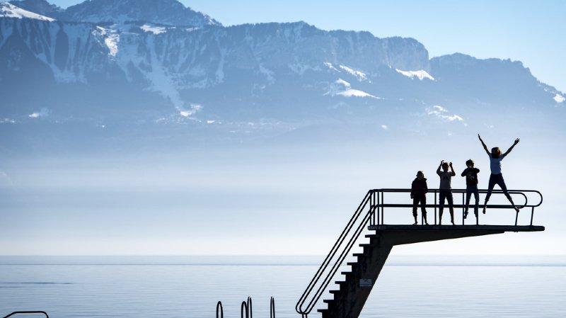 La Suisse connait un hiver particulièrement doux.