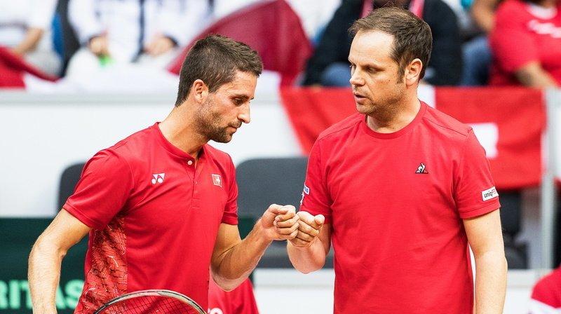 La Suisse remportera-t-elle enfin à nouveau un match en Coupe Davis? (Archives)