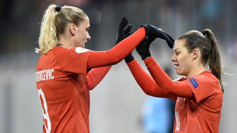 Football: les Suissesses battent l'Autriche en match amical