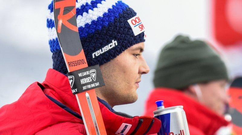 Loïc Meillard figure dans le cadre de Swiss Ski retenu pour les épreuves d'Hinterstoder