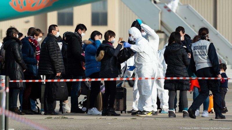 L'avion parti vendredi de Wuhan est le troisième affrété par la France pour rapatrier ses ressortissants.